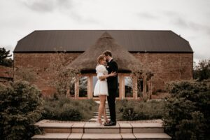 Couple in front of the Round House
