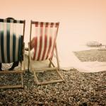 A Brighton Beach Bride And Her Polka Dot Veil…