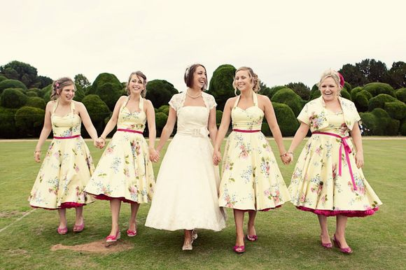 An English Summer Fete Wedding With Full-Circle '50's