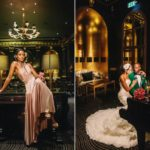 Luxury and Glamorous Winter Wedding Style At The Savoy Hotel, London