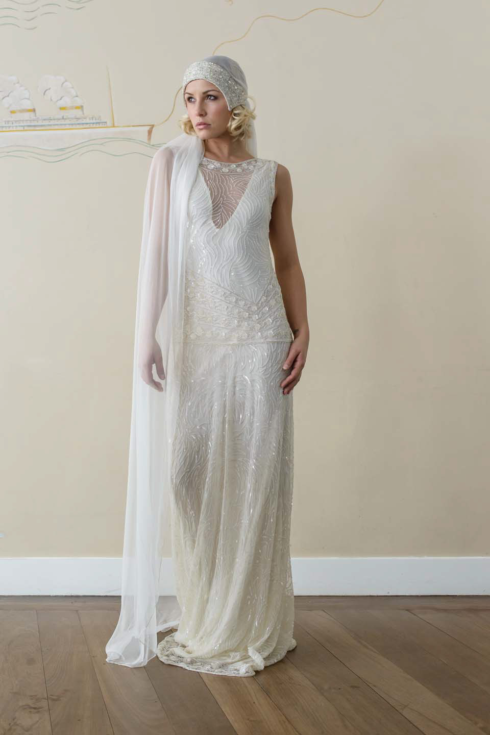 bf0ebdc53b18b wpid VIcky Rowe s s style wedding dresses - Vicky Rowe: A Debut Collection  of 1920s. ""