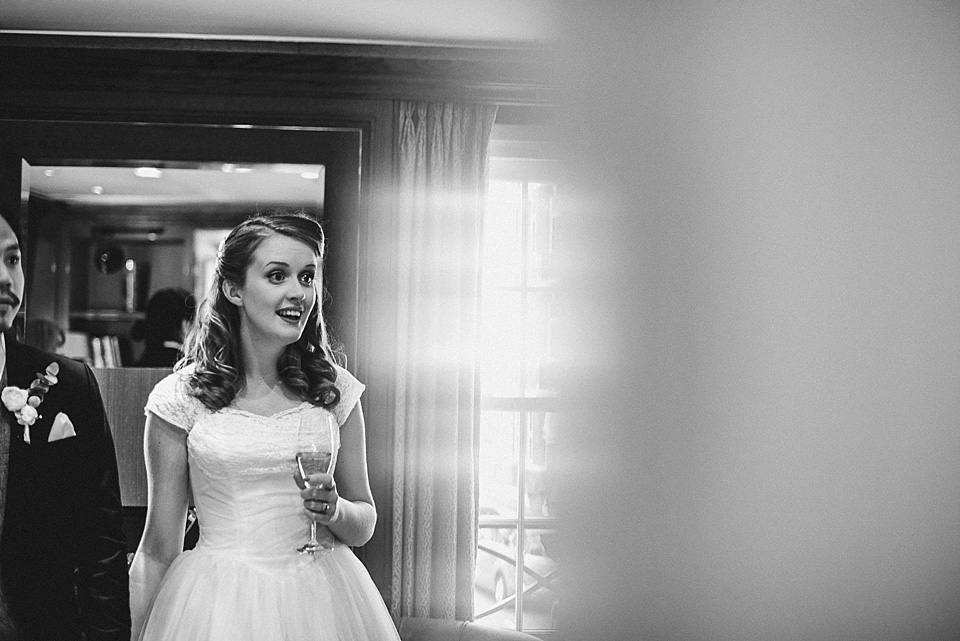An Original 1950's Emma Domb Wedding Dress For A Sweet And