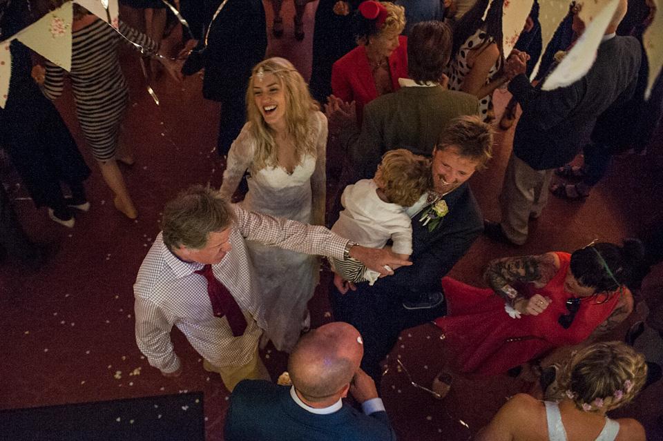cornwall wedding, cornish wedding, surfers wedding, marc le galle, wilden bride, backless wedding dress