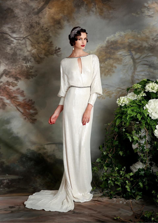Eliza Jane Howell Elegant Art Deco Inspired Wedding Dresses Love