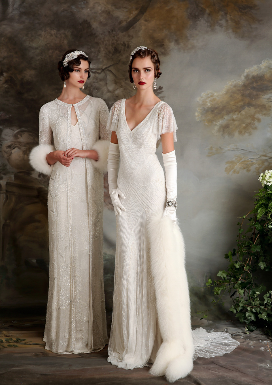 Eliza Jane Howell Elegant Art Deco Inspired Wedding Dresses Love My Dress Uk Wedding Blog Wedding Directory