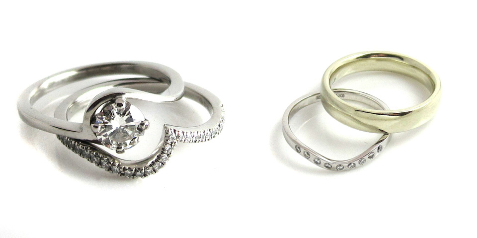 silver wedding jewellery, silver wedding accessories, silver and pearl, emma kate francis