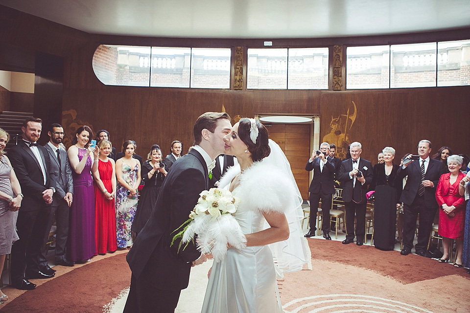 An Elegant Fred Astaire And Ginger Rogers Inspired Wedding At Eltham Palace Love My Dress Uk Wedding Blog Wedding Directory