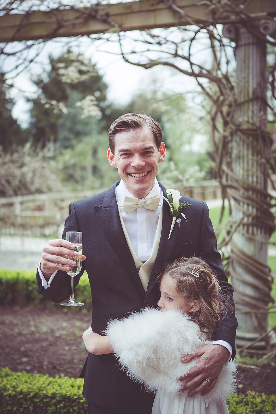 An Elegant Fred Astaire and Ginger Rogers Inspired Wedding