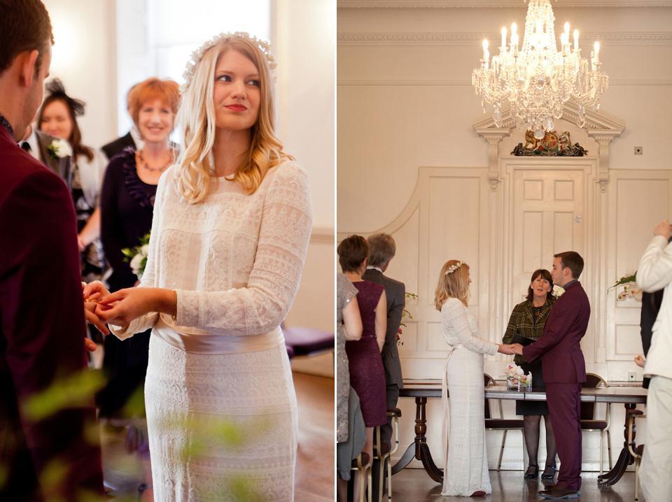 Wpid338950 Isabel Marant Wedding Dress 36 A Wax Flower Headpiece And Edwardian