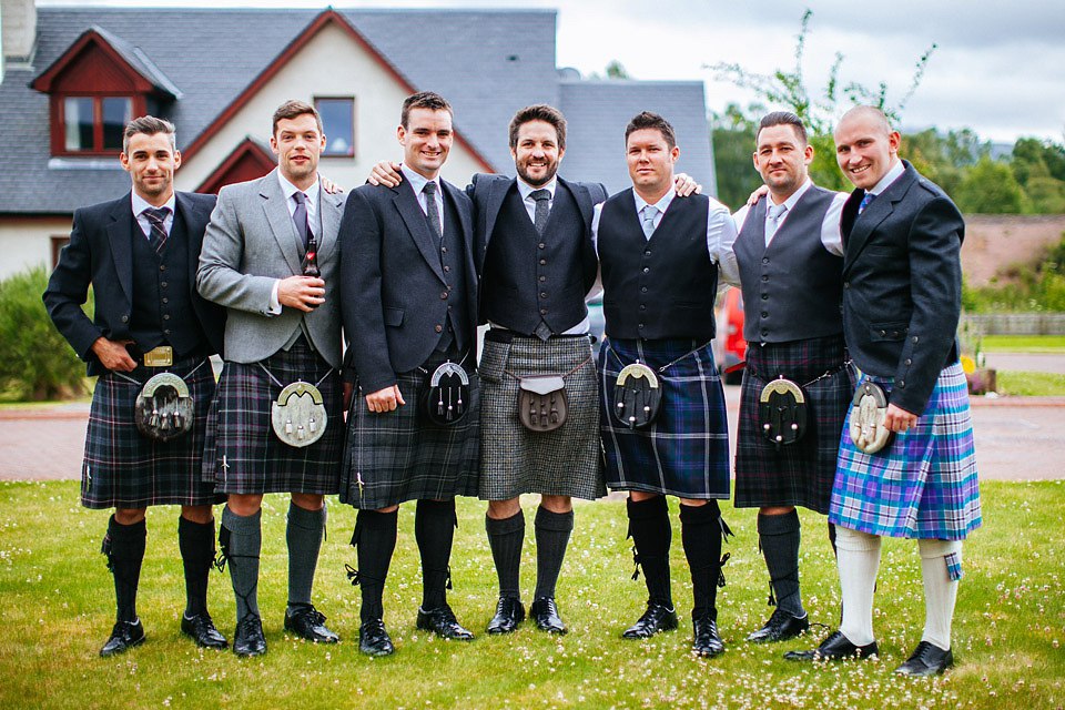 An Atmospheric Wedding In The Remote Scottish Highlands With Tipis