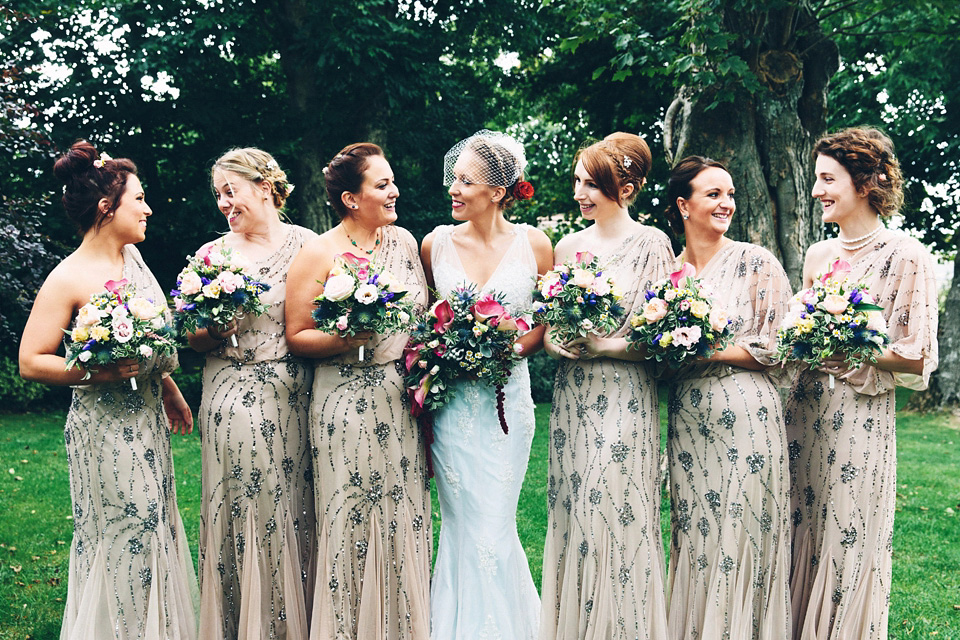 Art Deco Glamour And A Tadashi Shoji Gown For Gatsby Inspired Barn Wedding Weddings
