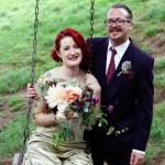 A Gold Wedding Dress for a Glamorous, Vintage Inspired Walcot Hall Celebration
