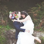 A Boho Bride and her Vintage-Luxe Inspired Wedding in Wales