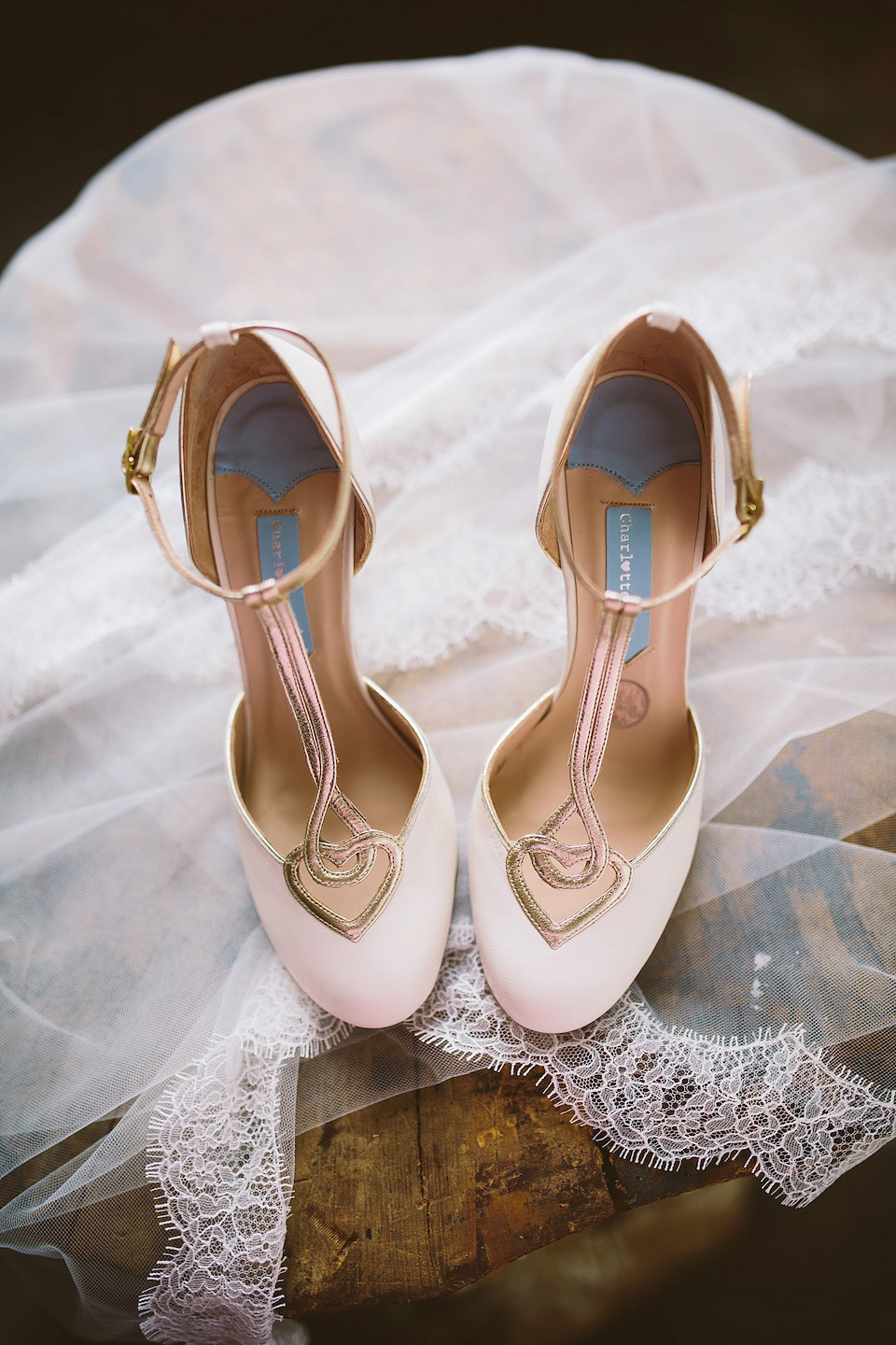 fcf77b723a90 wpid Charlotte Mills wedding shoes - A Silver Sixpence in her Shoe - First  Look at