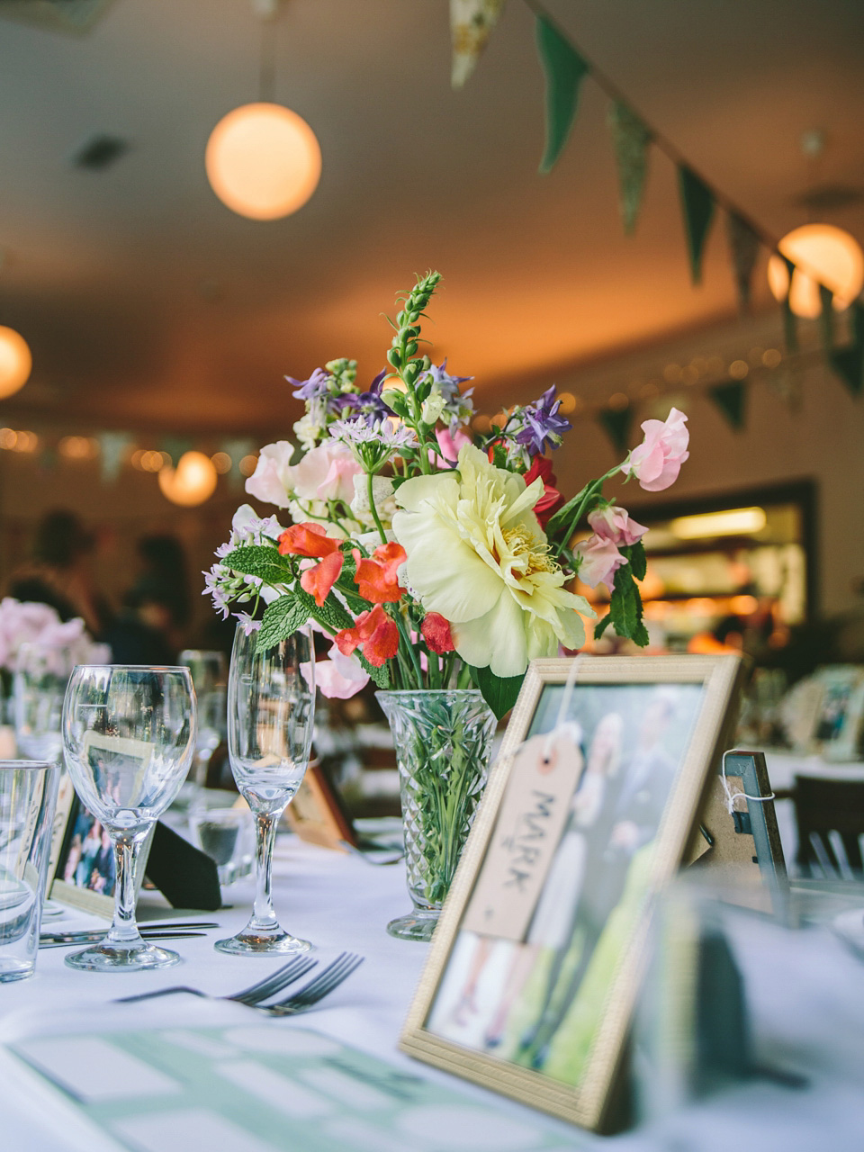 A 50's Vintage Inspired, Colourful London Pub Wedding
