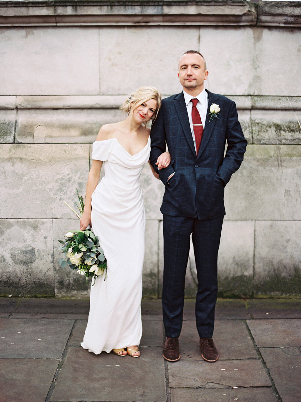 Vivenne Westwood Wedding Dresses.Vivienne Westwood And Bridesmaids In Jumpsuits For A Colourful