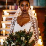 Geometric, Gold and Glamorous – A Gritty Industrial Bridal Shoot