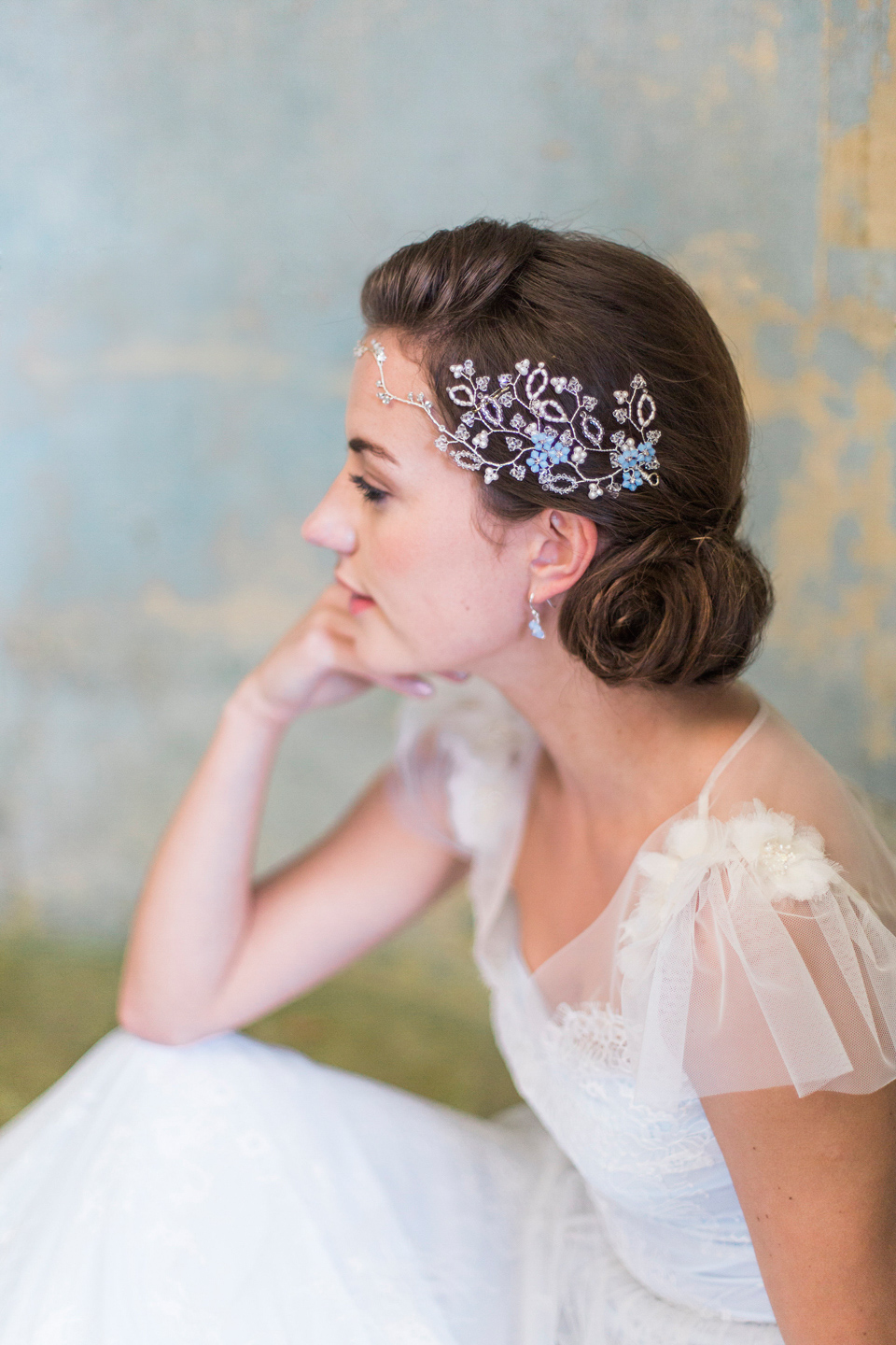 hermione harbutt: nature inspired hair vines and delicate bridal
