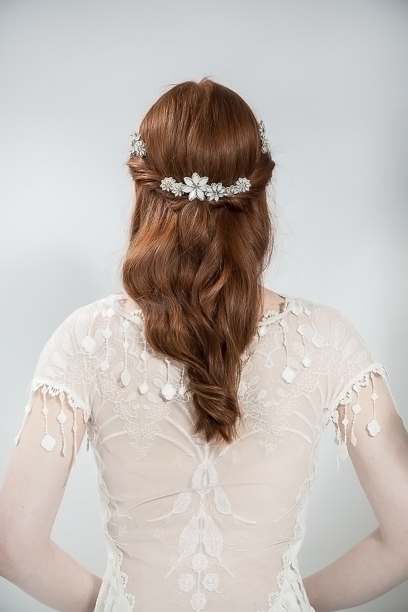 emmy london - elegant and ethereal wedding hair accessories | love