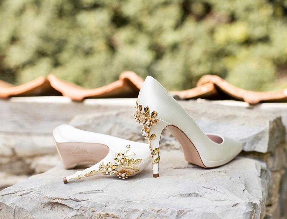 wpid Harriet Wilde Joanie P Gold Cherry Wall LR  - Harriet Wilde - Elegant Wedding Shoes and Exquisite Statement Heels