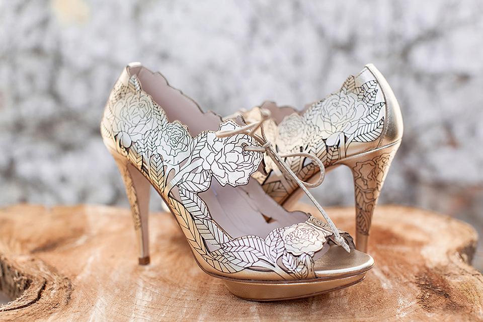 wpid Harriet Wilde Peony Gold Wood  LR - Harriet Wilde - Elegant Wedding Shoes and Exquisite Statement Heels