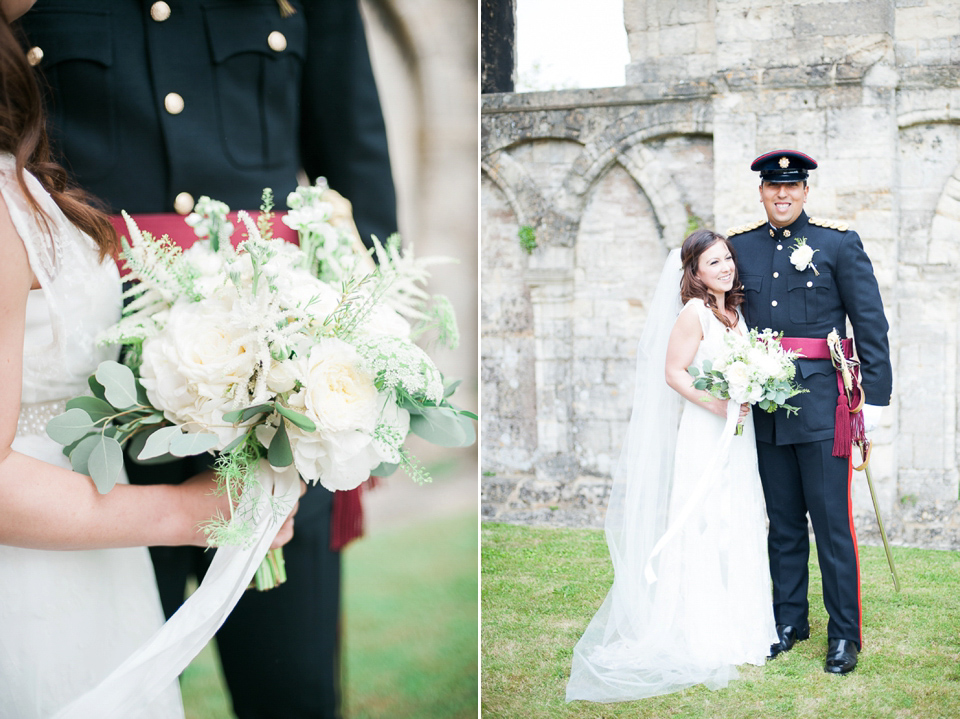 An Elegant Military Wedding For A British Army Officer And His