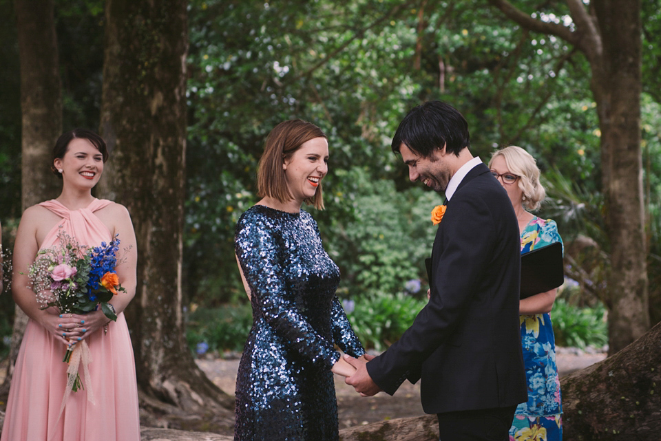 wpid sequin green wedding dress  - A Blue Sequin Dress for a Laid Back and Colourful Picnic Wedding
