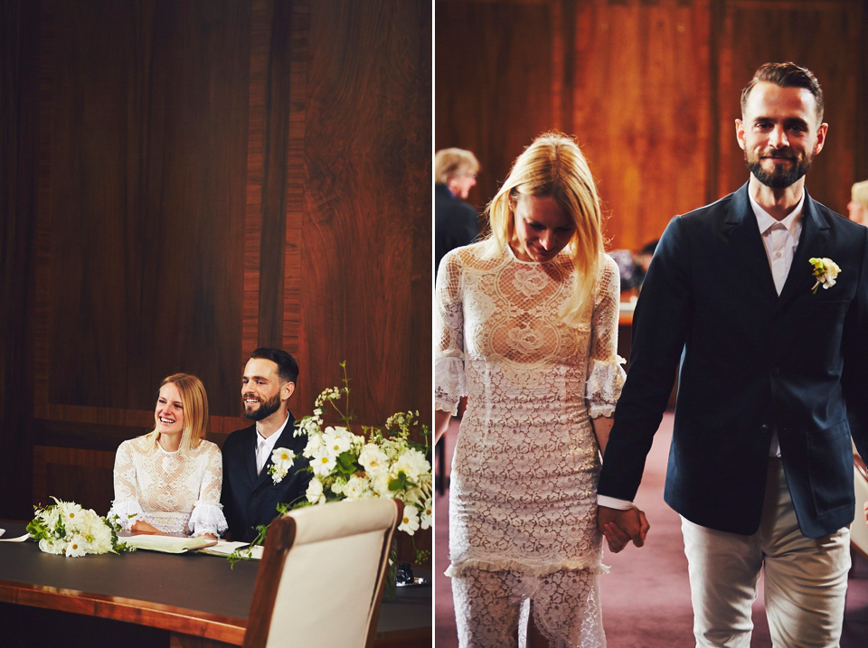 Two Dresses Two Suits And Two Ceremonies For A Enchanting