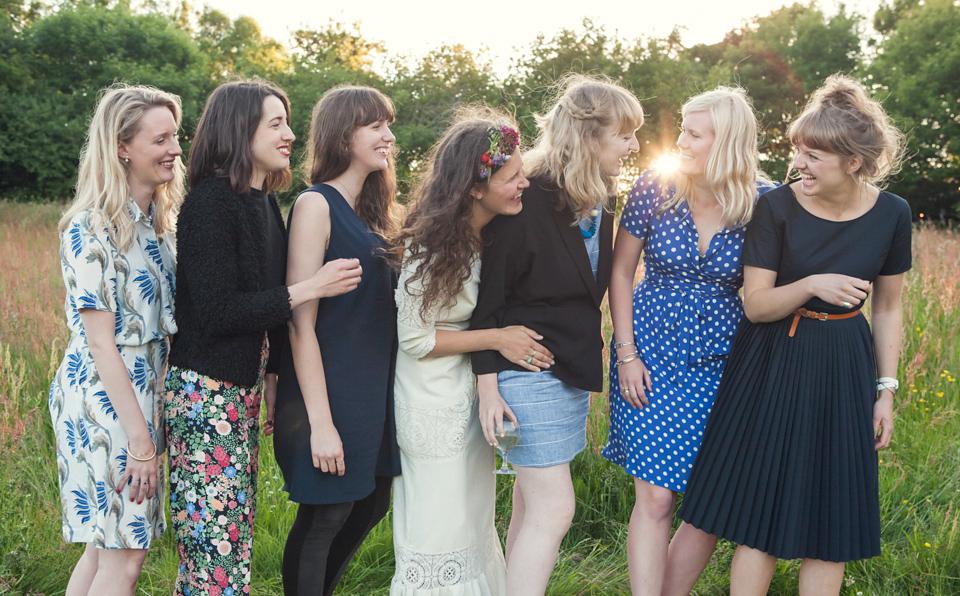771f6c38f7f wpid summer solstice woodland wedding - A Bohemian
