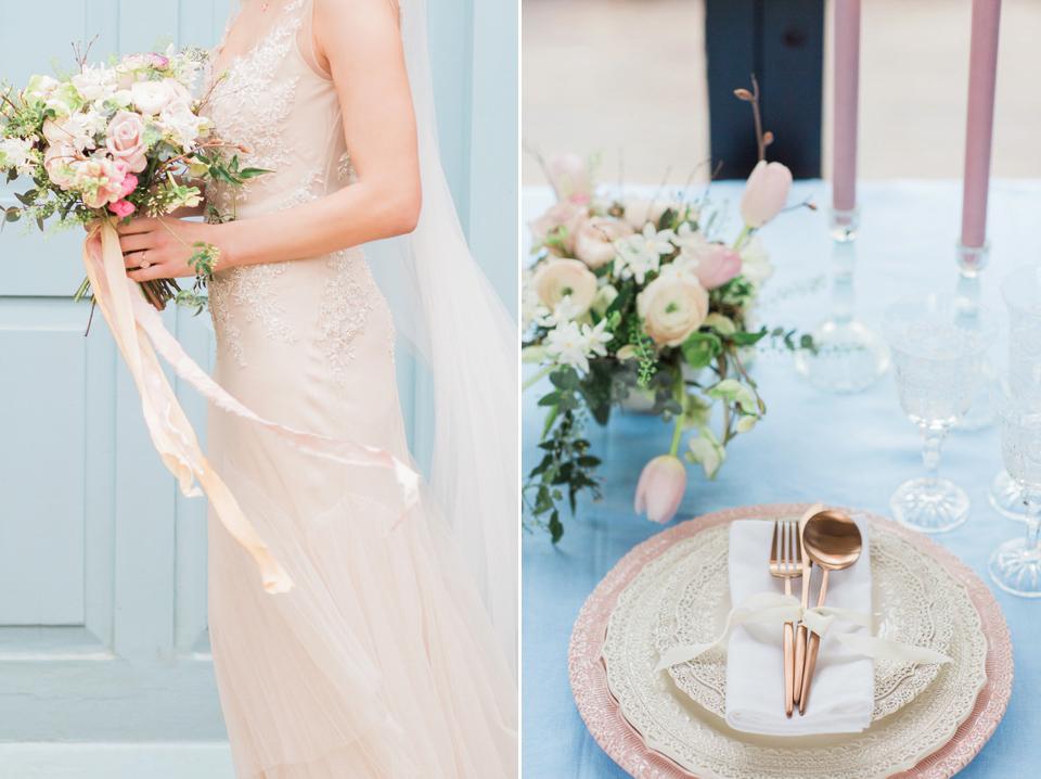 """f4635f3a0a2 ... wpid bridal wedding pantone rose quartz serenity - Rose Quartz    Serenity  Bridal Style with. """""""