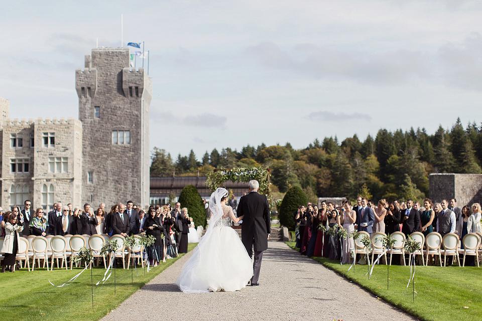Wpid425820 Marchesa Ashford Castle Wedding 62 A Gown For Fairy Tale Celtic And