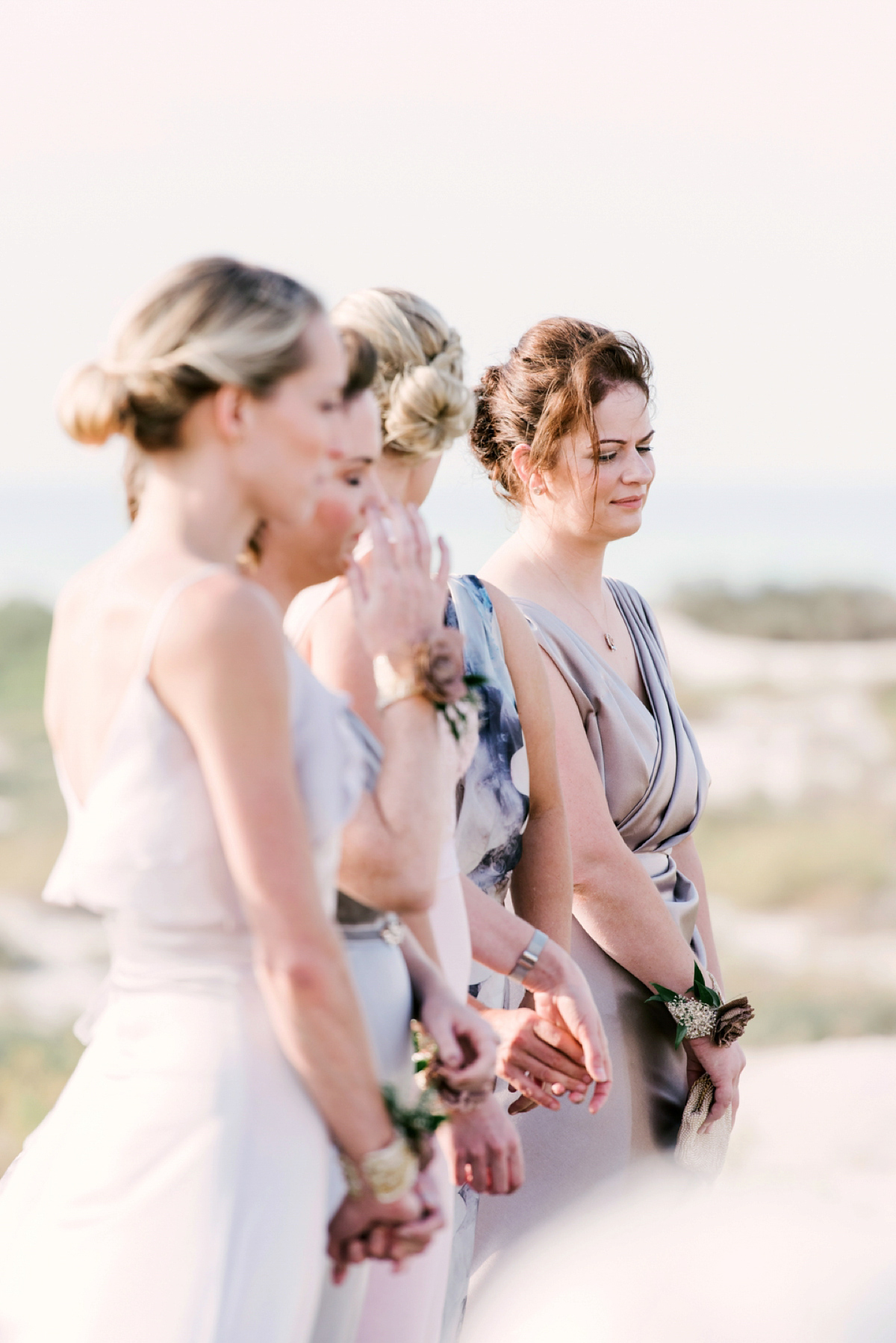A House Of Moirai Dress For A Stylish Boho Wedding In Abu Dhabi
