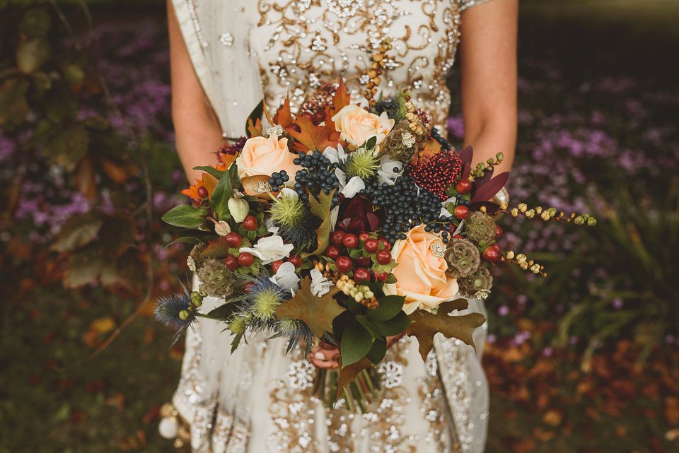 свадебные букеты для невесты осенние фото этот
