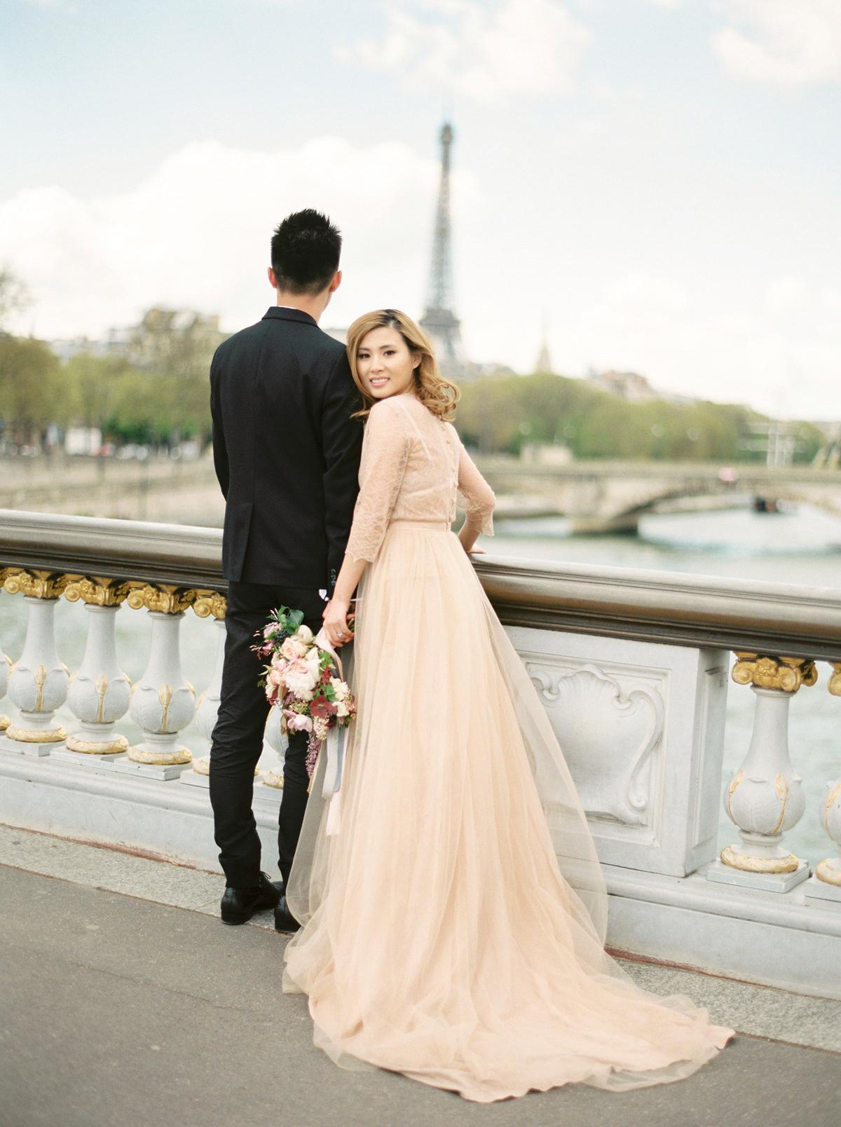 97aeab8579e A Dreamy Engagement Shoot in Paris Shot On Film | Love My Dress® UK ...
