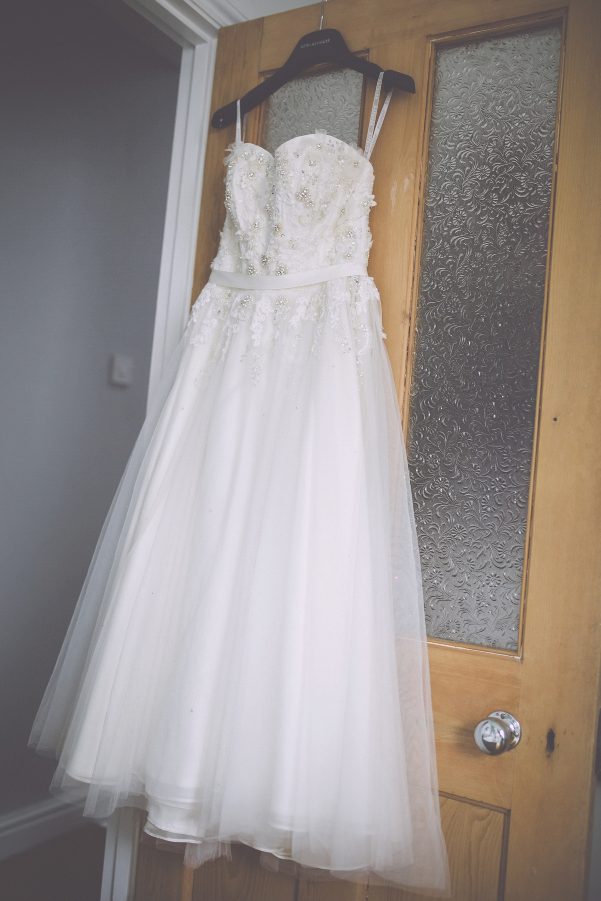 A Tea Length Gown For A Rustic And Handmade Somerset Barn