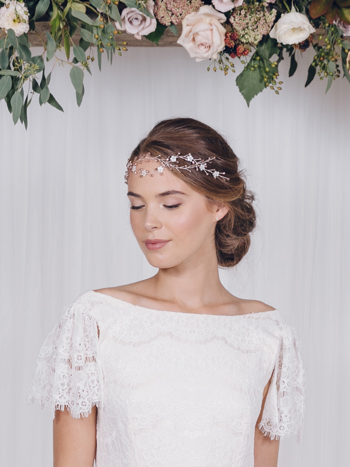 wild rose – the luxurious 2017 bridal accessories collection from