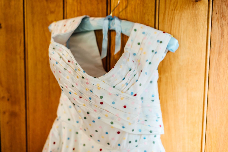 e16668c0d75b8 wpid polka dot dress geek chic wedding - A 1950's Style Polka-Dot Dress for  ...