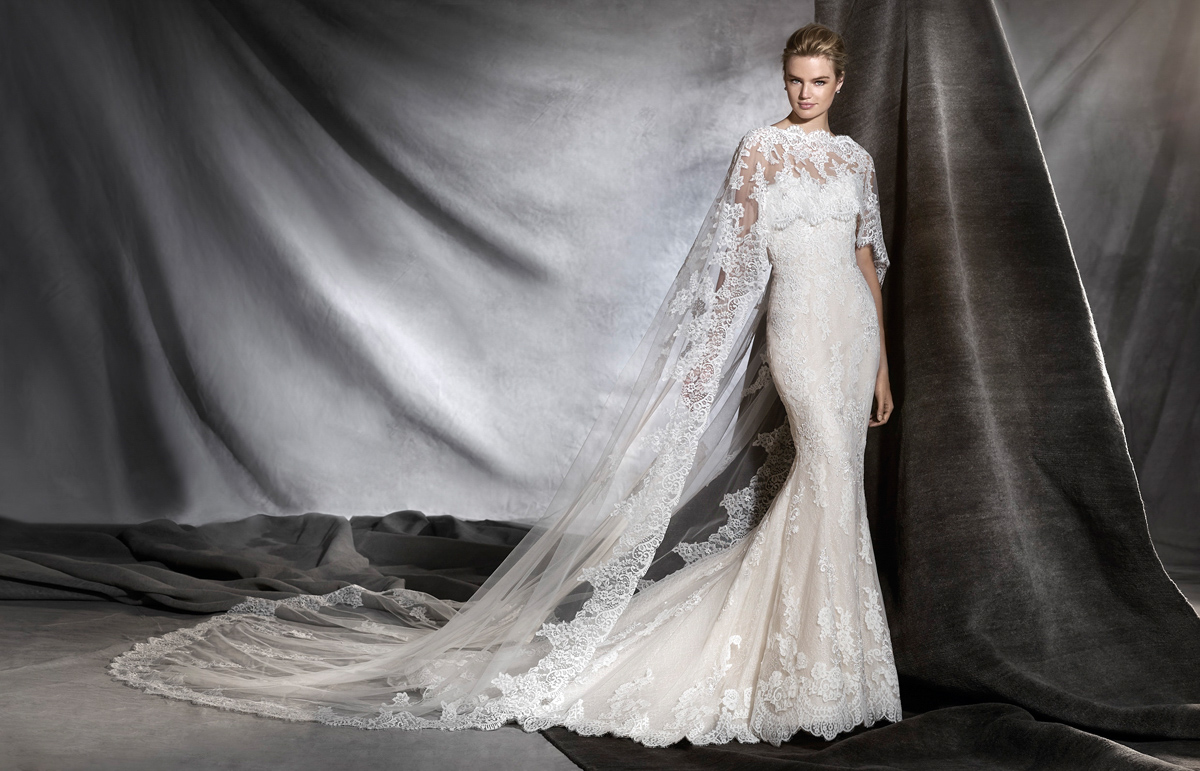 d422f68d82d Elegance Redefined – The Beautiful New 2017 Bridal Collections From  Pronovias