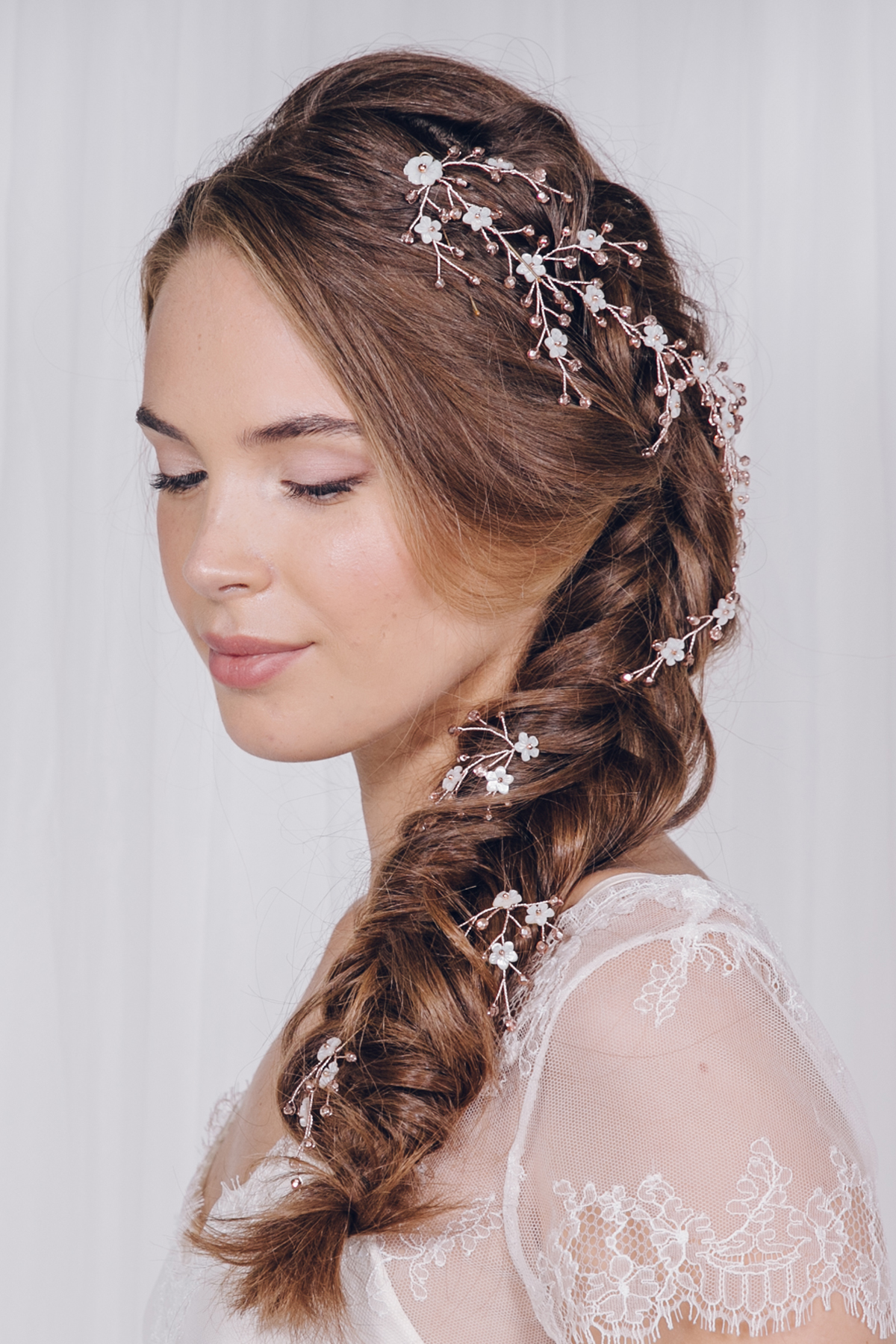 a guide to bridal hair accessory styling with debbie carlisle | love