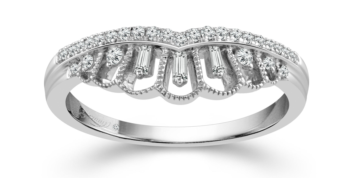 Art Deco Inspired Wedding Rings and Jewellery From Emmy London & H