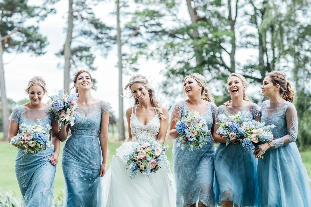 """762a0a47deb ... KJ - A Vera Wang Gown for a Whimsical and Romantic Walled Garden Wedding.  """""""