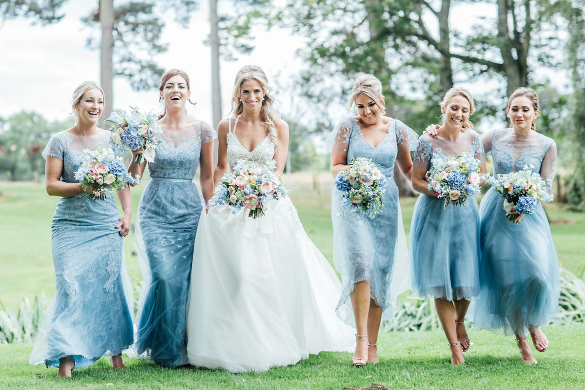 """a53d2c4d3af Photography by Carley Buick. pale blue vera wang walled garden wedding - A  Vera Wang Gown for a Whimsical and. """""""