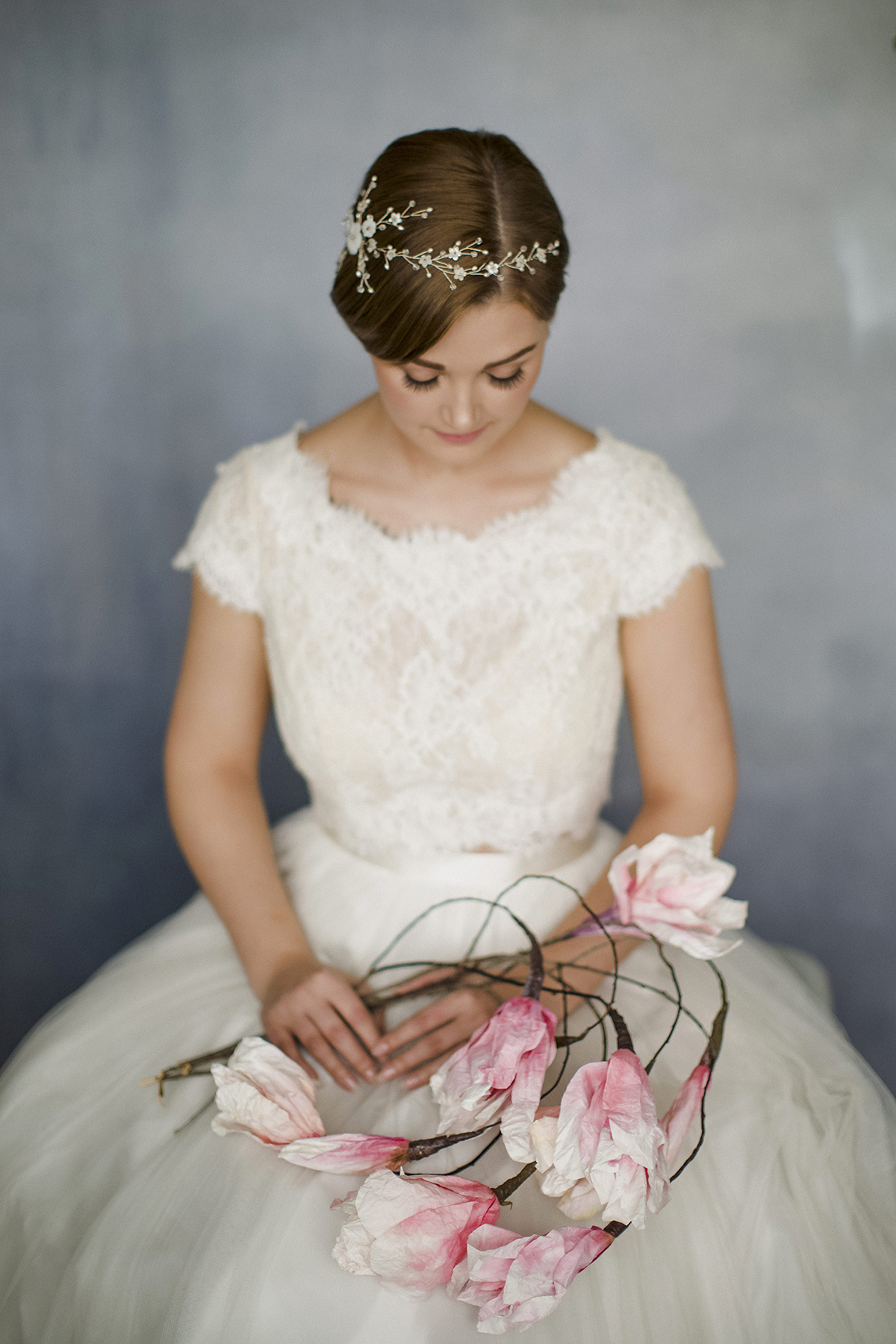 Sylvie By Debbie Carlisle How To Style Wedding Hair Accessories With Short