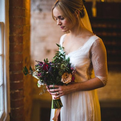 Kate Beaumont Lace for a Colourful, Relaxed and Lovely Family Wedding