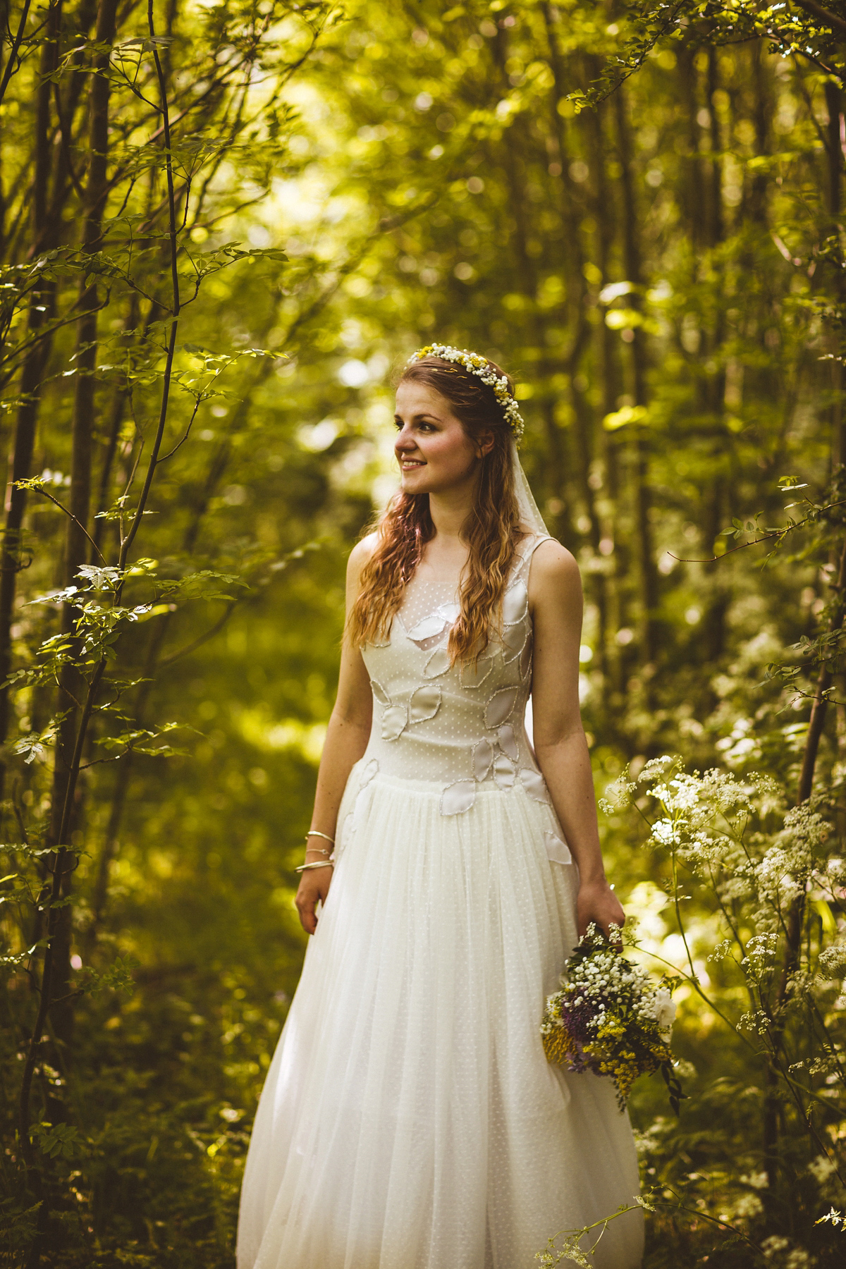 Nature Inspired Wedding A Handmade And Lovely
