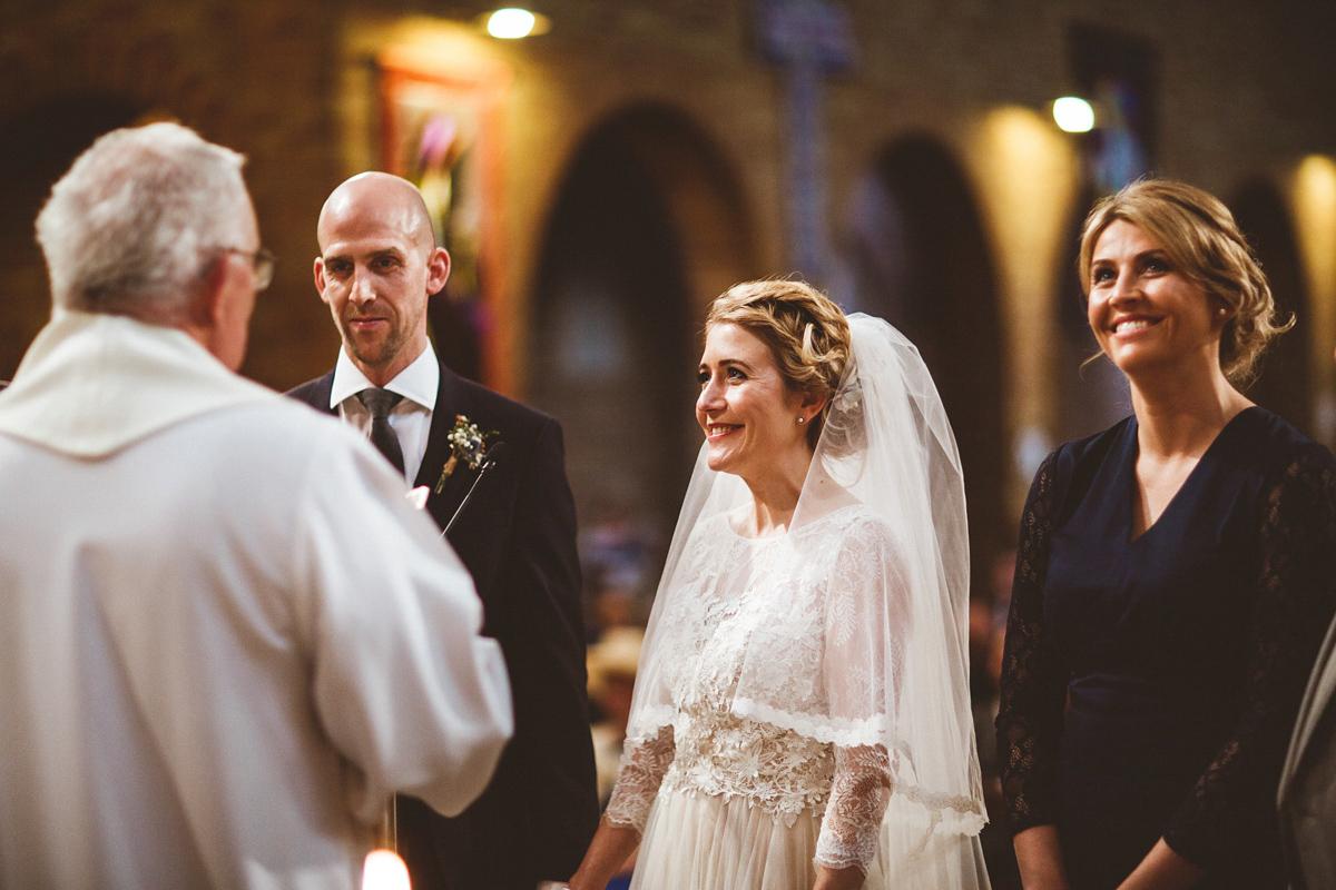 29e9ab11d498 bhldn dress industrial inspired winter wedding - A BHLDN Dress and Velvet  Flower Crown For an