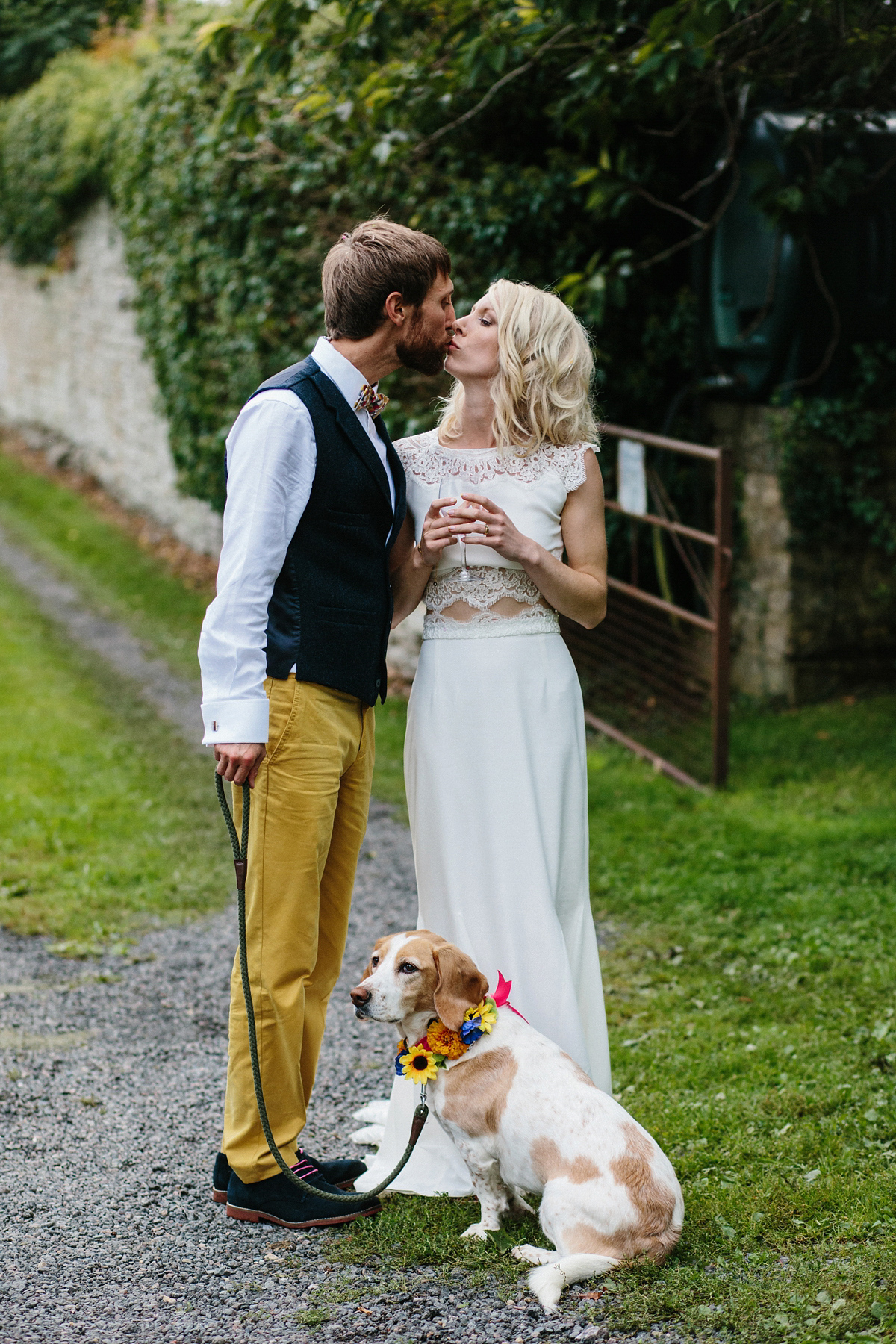 Rime Arodaky Bridal Separates Colourful Wedding For A And Quirky