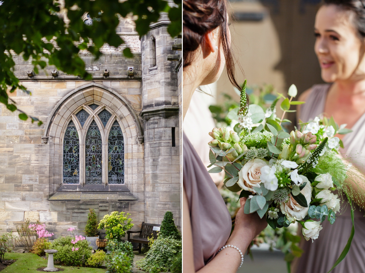 62440b96dfd ... stewart parvin bride - A Sequin Stewart Parvin gown for a September  Wedding in Scotland ...