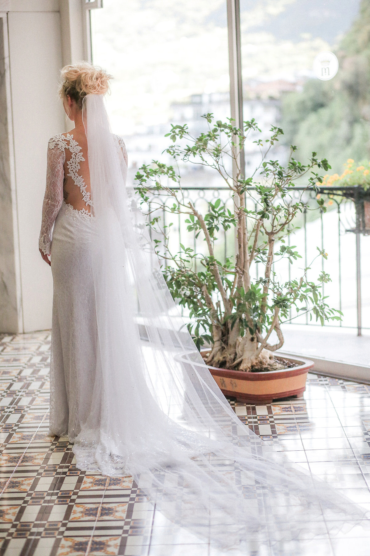 3893b56961c ... Charlotte Olympia Shoes and Riki Dalal Lace amalfi coast wedding -  Charlotte Olympia Shoes and Riki ...
