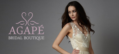 agape  - A Sassi Holford Gown for an Elegant and Edgy Black Tie Wedding